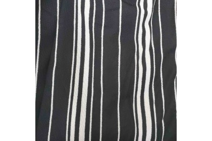 FST Plus Size Black White Line Palazzo / Palazo Jalur Hitam Putih Besar [1050_BW Line]